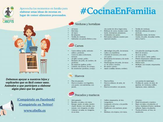 Ideas recetas en familia